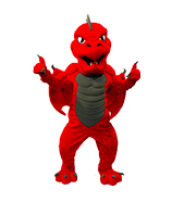 SUNY Oneonta Dragon - No Fire