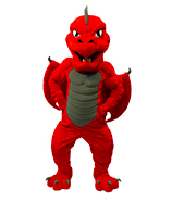 Red with claws on hips (no shirt)